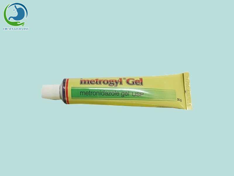 Hình ảnh: Tuýp thuốc Metrogyl Gel