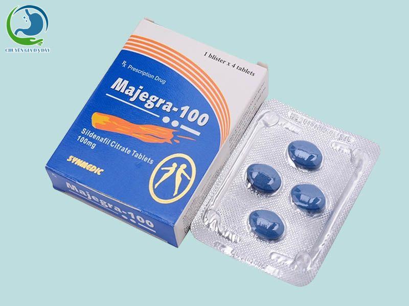 Thuốc cường dương Majegra 100 của Ấn Độ