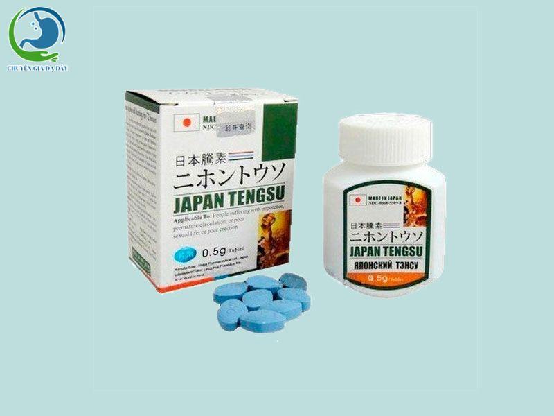 Thuốc cường dương thảo dược Japan Tengsu