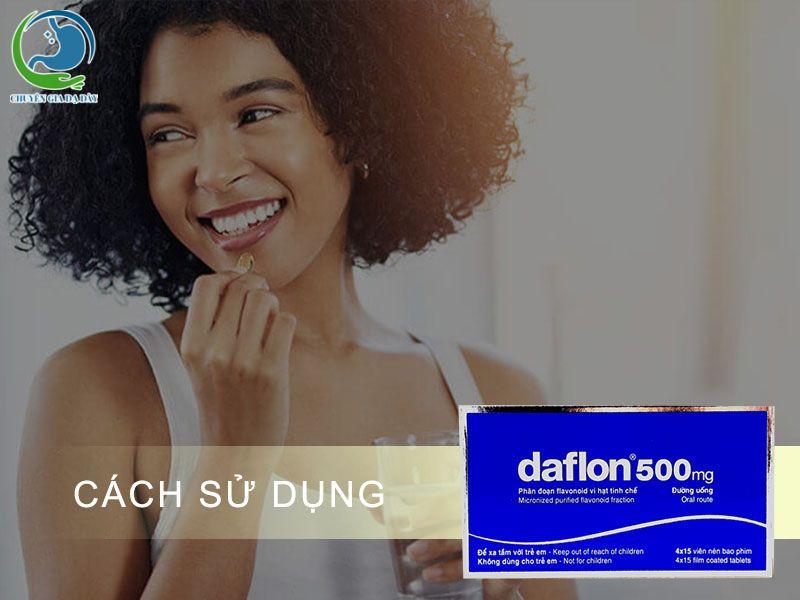 Cách sử dụng thuốc Daflon