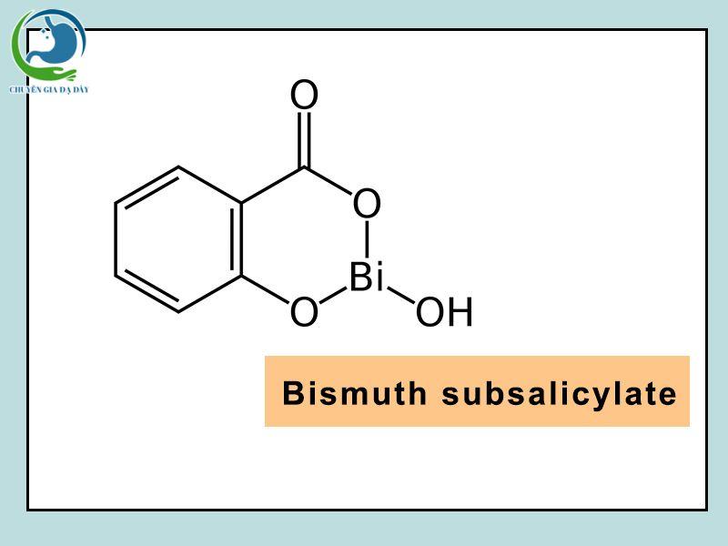 Cấu trúc hóa học của Bismuth Subsalicylate