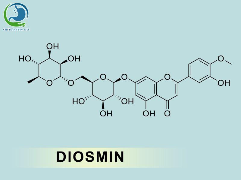 Cấu trúc hóa học của Diosmin
