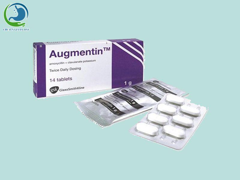 Kháng sinh Augmentin điều trị các trường hợp trĩ cấp tính gây viêm