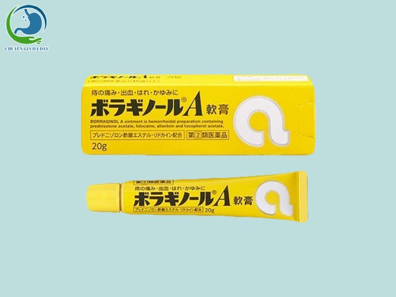 Thuốc bôi trĩ chữ A của Nhật