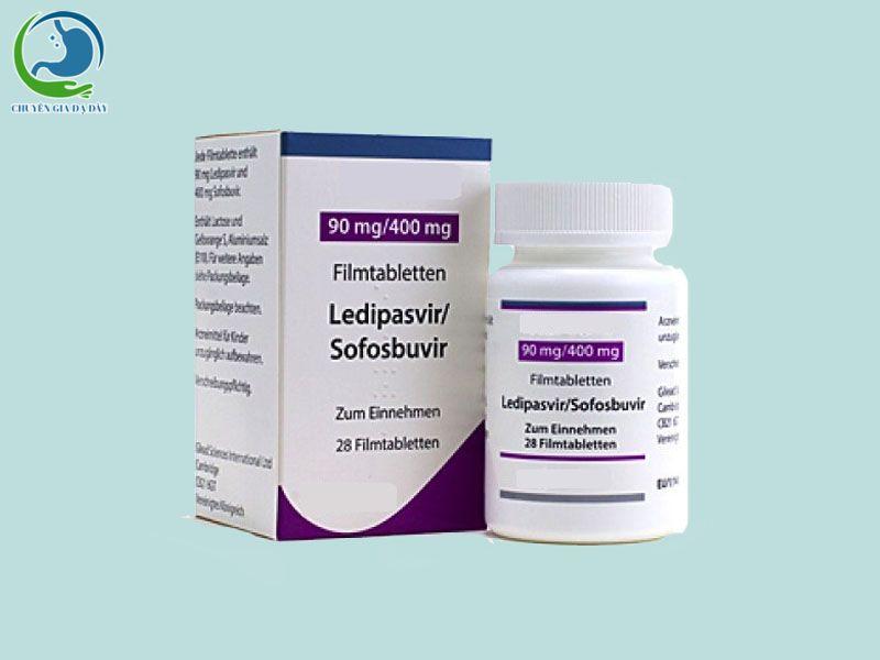Ledipasvir/ Sofosbuvir tương tác thuốc với Hepatymo