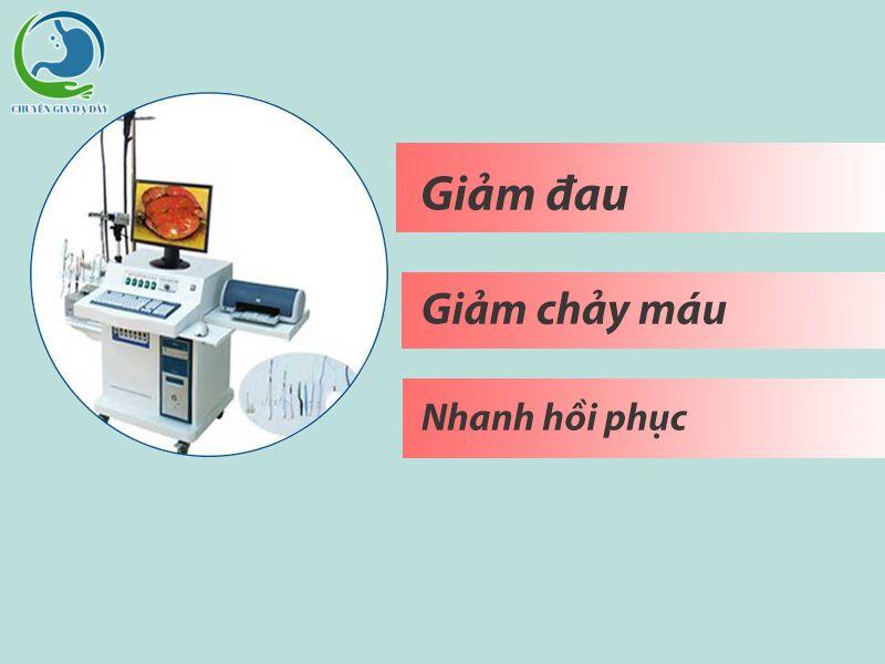 Ưu điểm của phương phát cắt trĩ HCPT