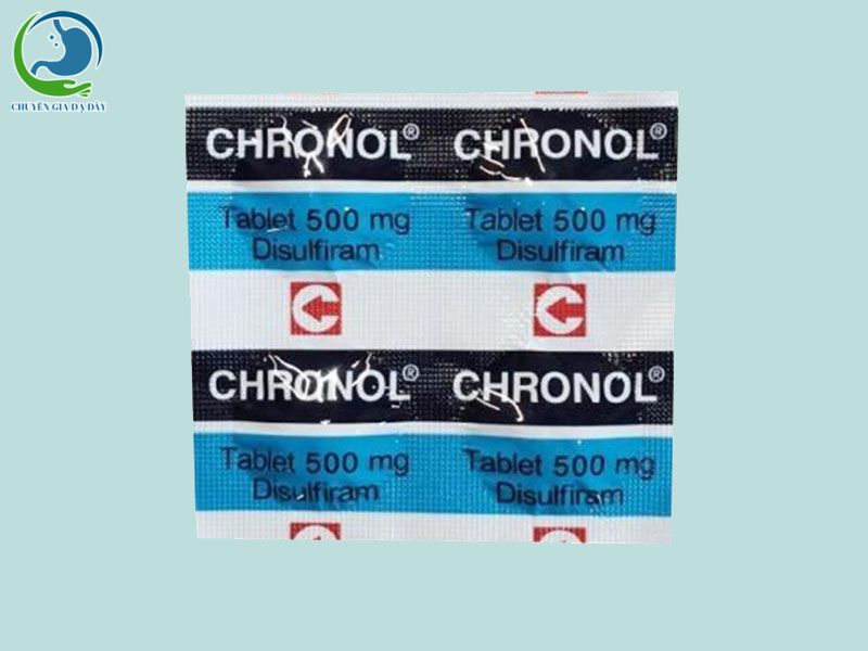 Vỉ thuốc Chronol