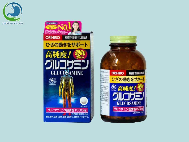 Viên uống Glucosamine Orihiro của Nhật