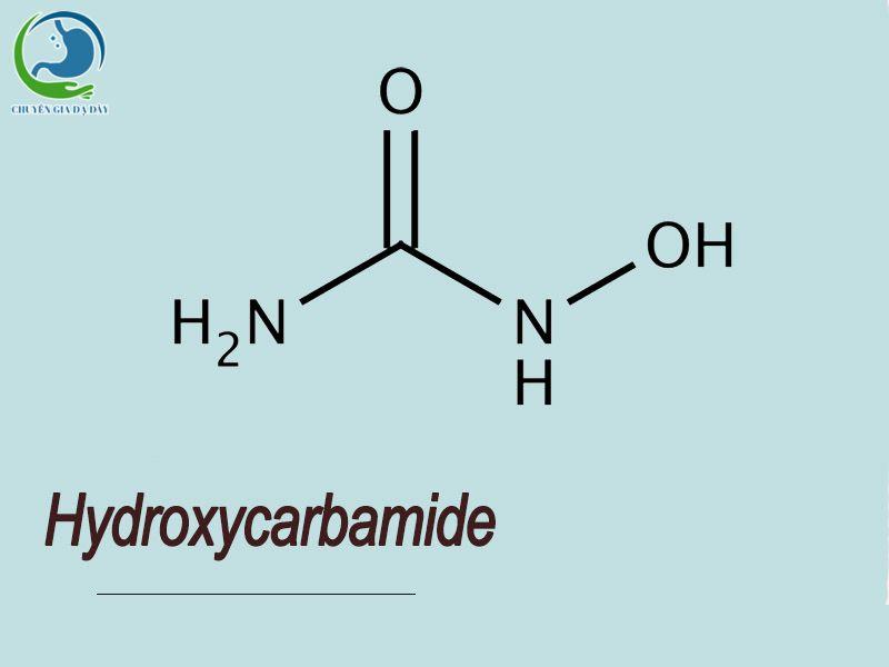 Công thức hóa học của Hydroxycarbamide