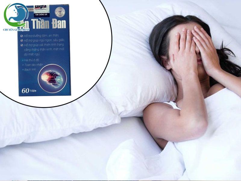 An Thần Đan chữa mất ngủ