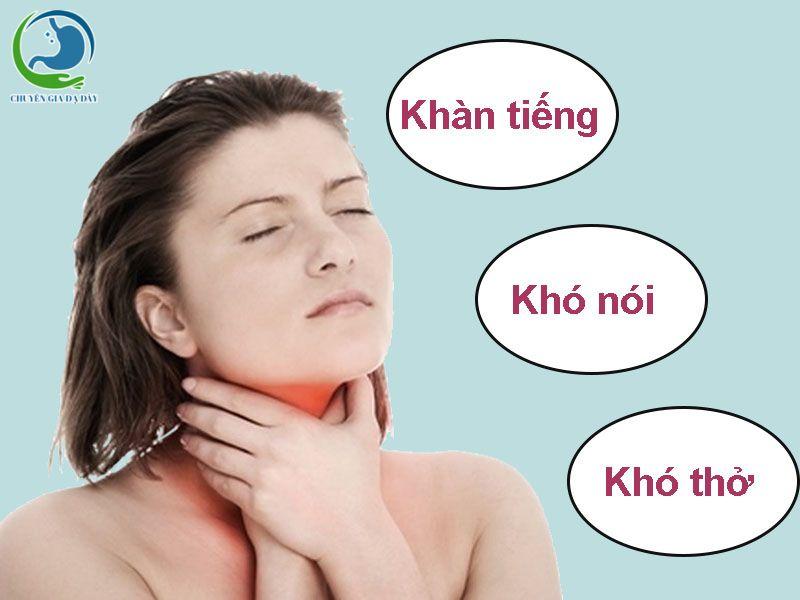 Trào ngược dạ dày thực quản ảnh hưởng đến hô hấp