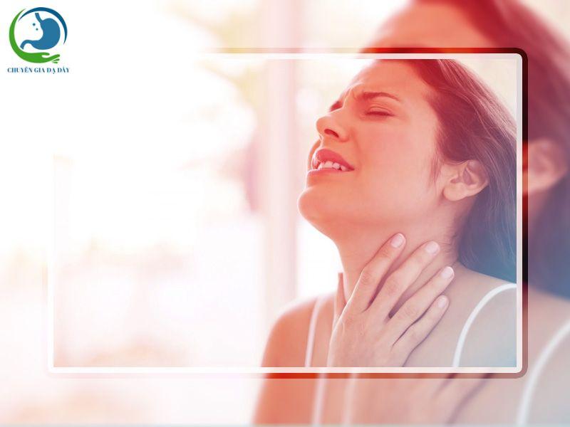 Ợ hơi, ợ chua là một biểu hiện của trào ngược dạ dày thực quản
