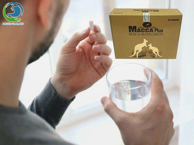 Cách sử dụng Macca Plus