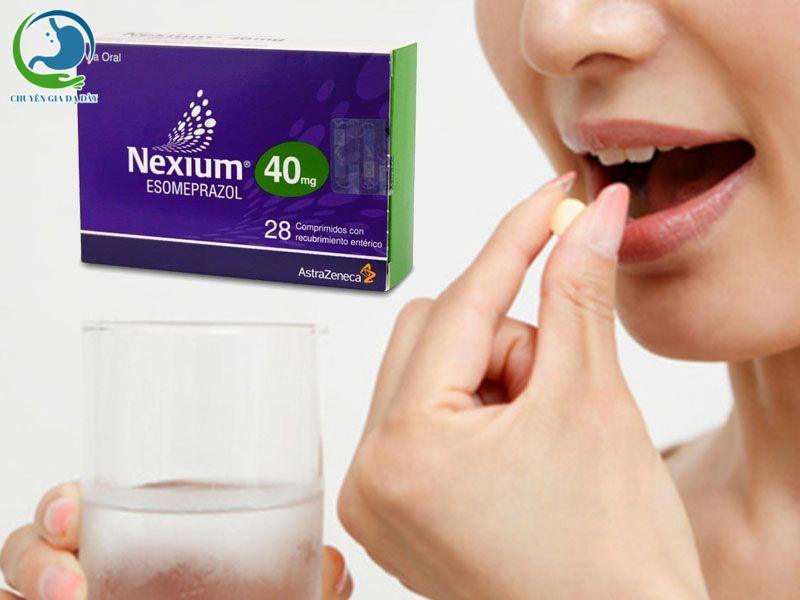 Cách sử dụng thuốc Nexium 40mg