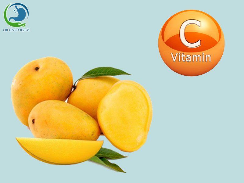 Xoài chứa Vitamin C