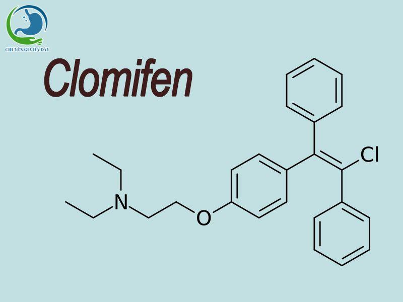 Công thức hóa học của Clomifen