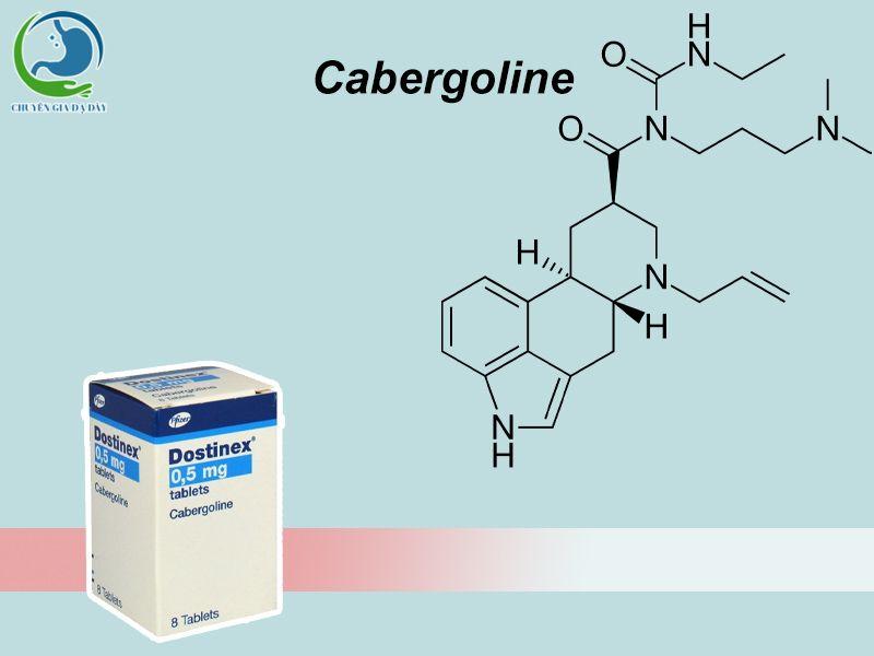 Công thức hóa học của Cabergoline
