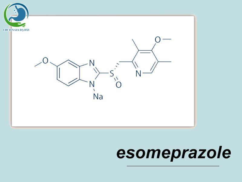 Công thức hóa học của Esomeprazole