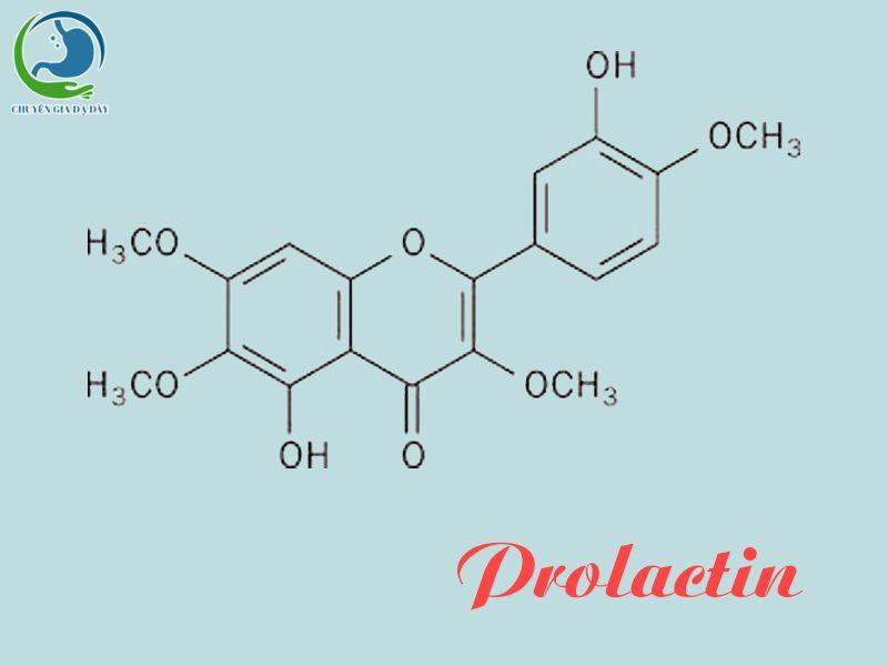 Công thức hóa học của Prolactin
