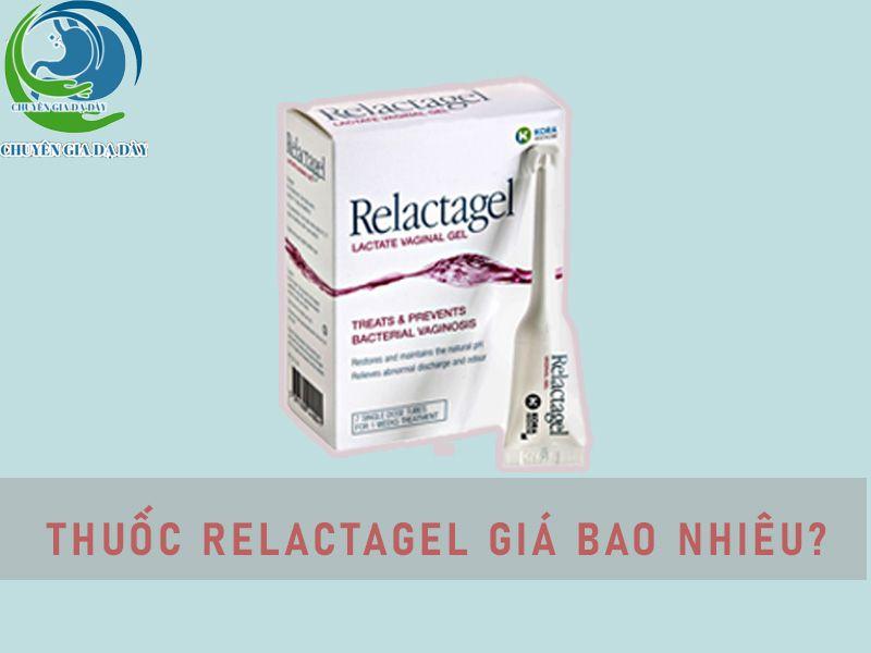 Thuốc phụ khoa Relactagel giá bao nhiêu?