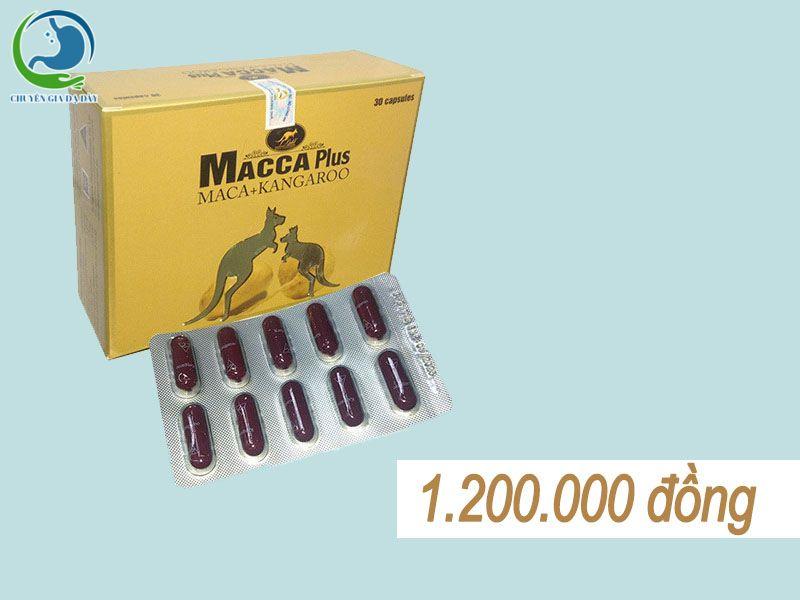 Giá bán Macca Plus