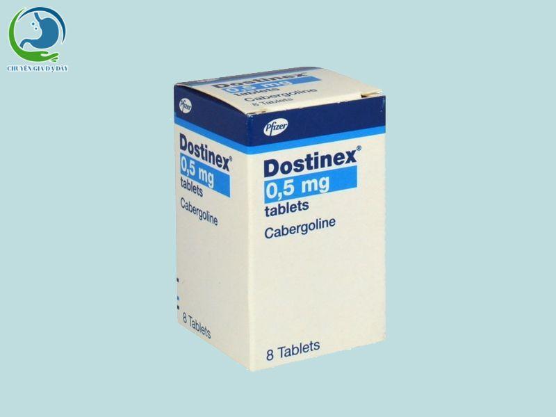 Hình ảnh: Hộp thuốc Dostinex 8 viên