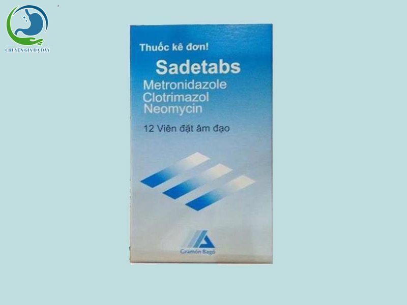 Hình ảnh: Hộp thuốc Sadetabs