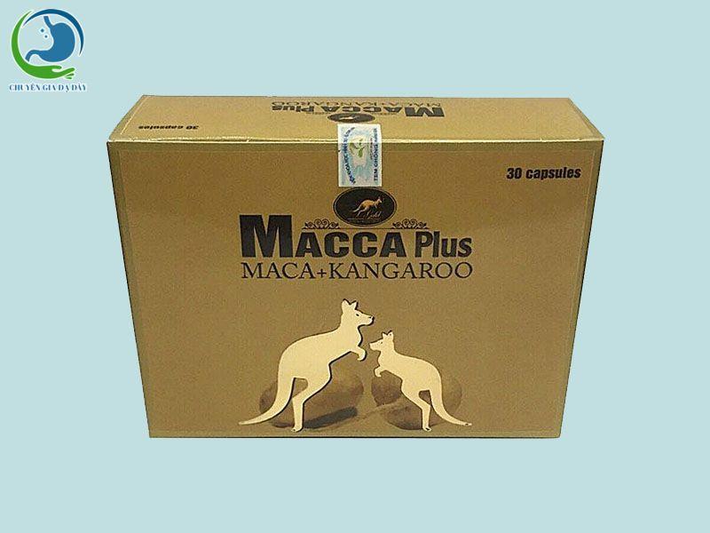 Hình ảnh: Hộp Macca Plus chính hãng