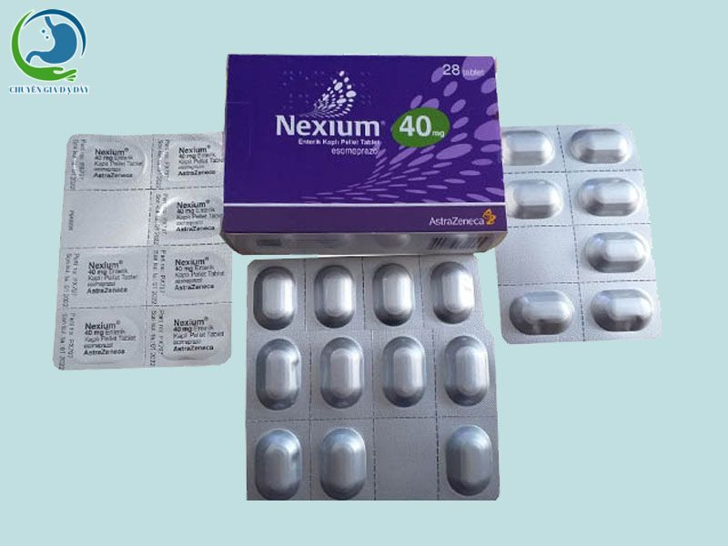 Hình ảnh: Hộp thuốc Nexium 40mg