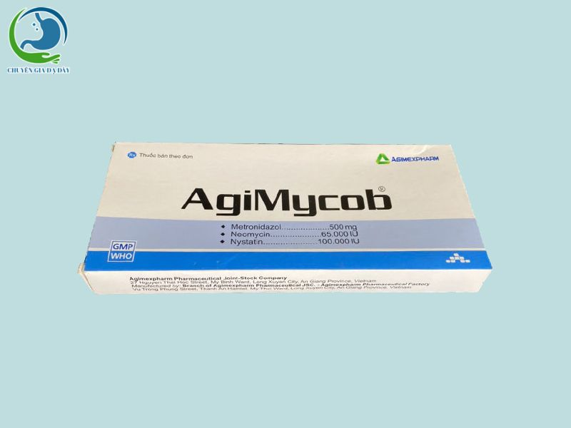 Hình ảnh: Hộp thuốc Agimycob