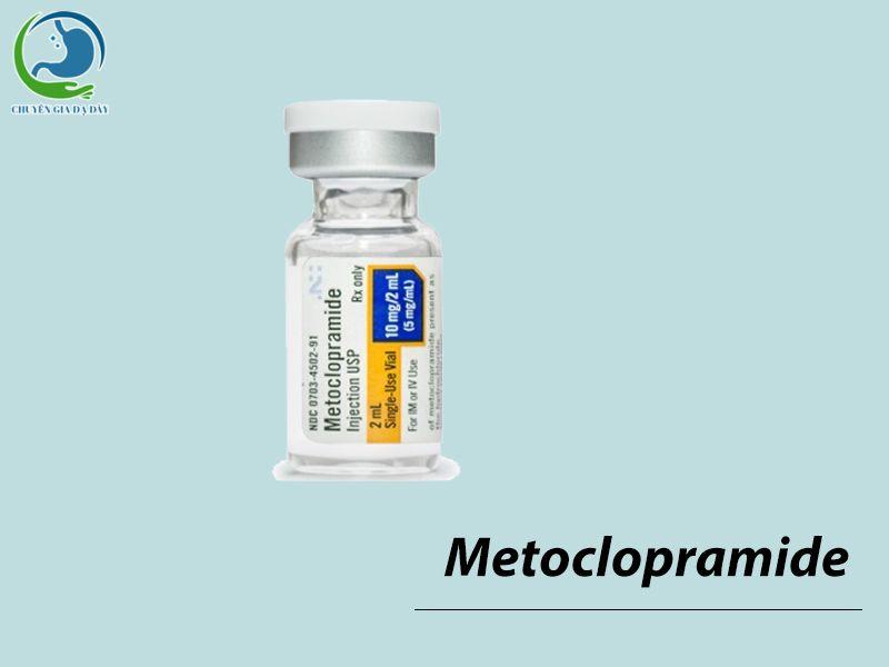 Thuốc điều trị trào ngược dạ dày thực quản Metoclopramide