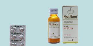 Thuốc trào ngược dạ dày Motilium