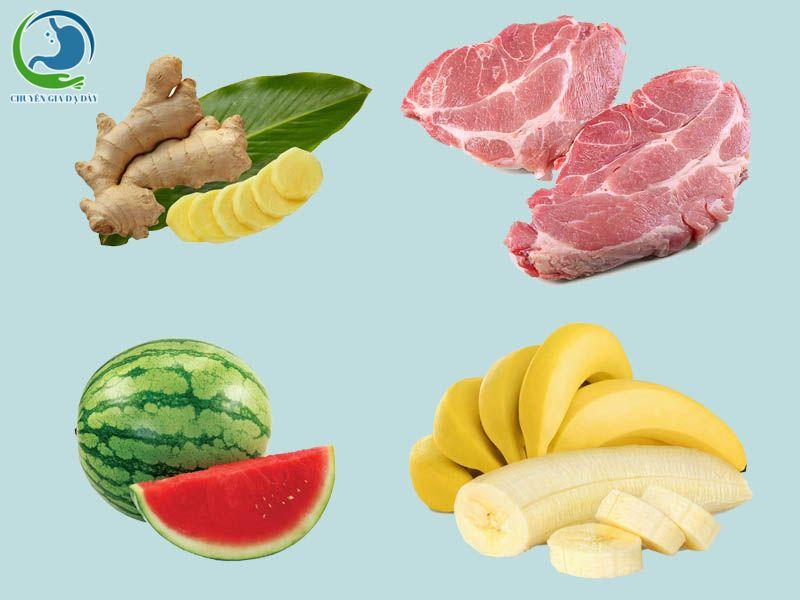 Các thực phẩm mà người bị trào ngược dạ dày nên ăn