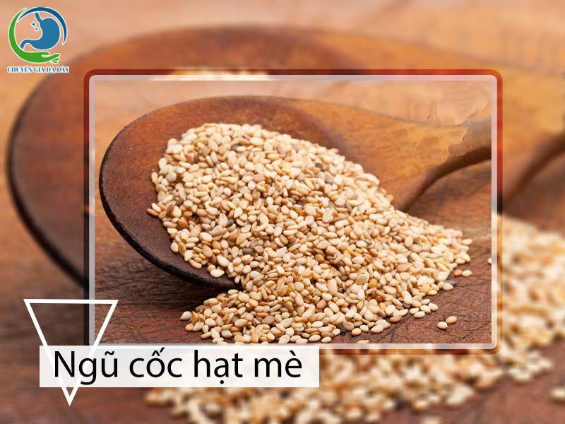 Sử dụng ngũ cốc hạt vừng (mè) cho người bị trào ngược dạ dày