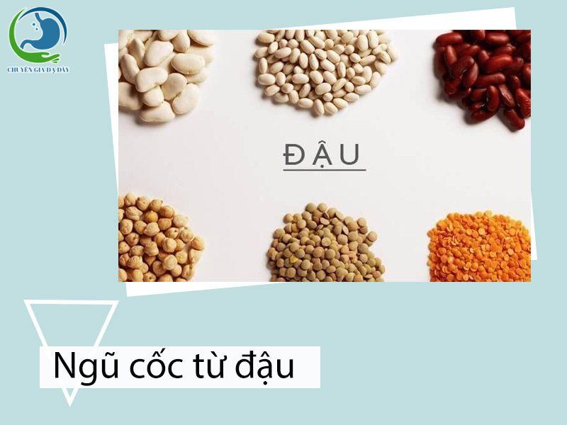 Ngũ cốc làm từ các loại đậu hỗ trợ trị trào ngược dạ dày