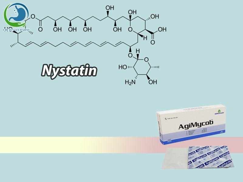 Nystatin có trong thuốc Agimycob