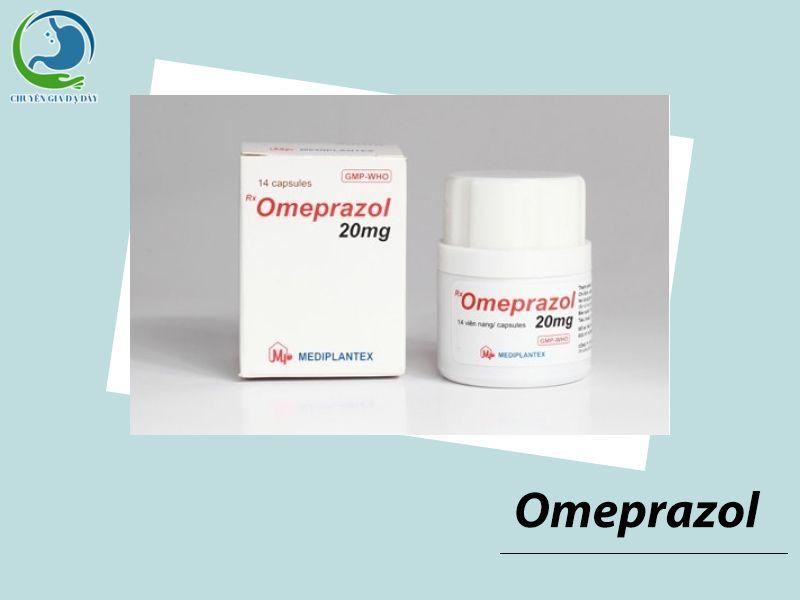 Thuốc ức chế proton Omeprazol điều trị trào ngược dạ dày thực quản
