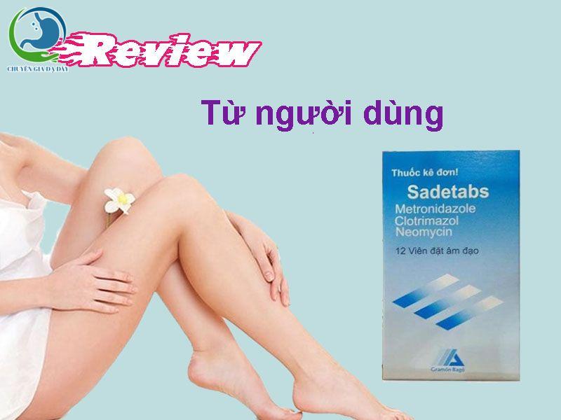 Review về thuốc Sadetabs trên Web trẻ thơ