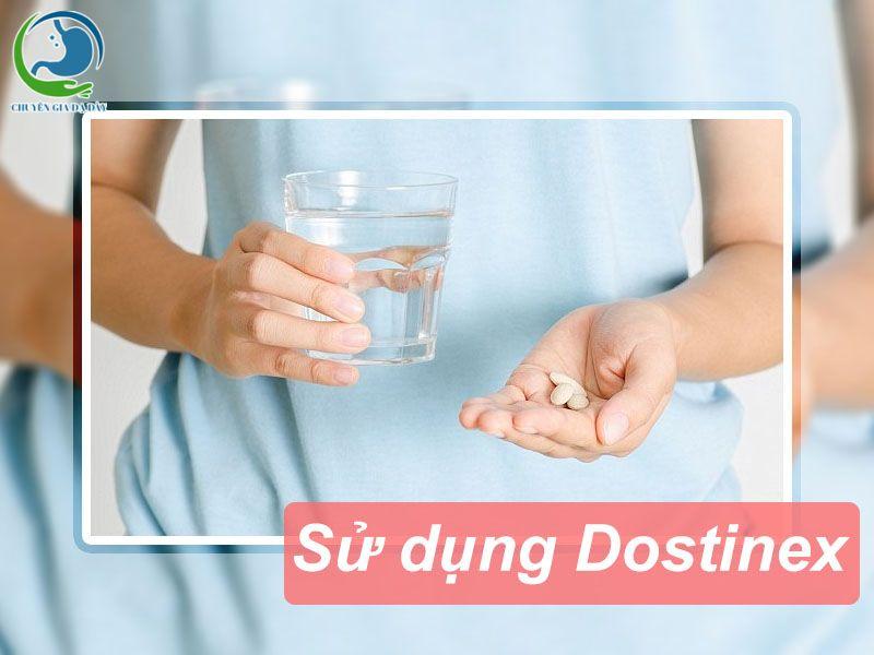 Cách sử dụng thuốc Dostinex