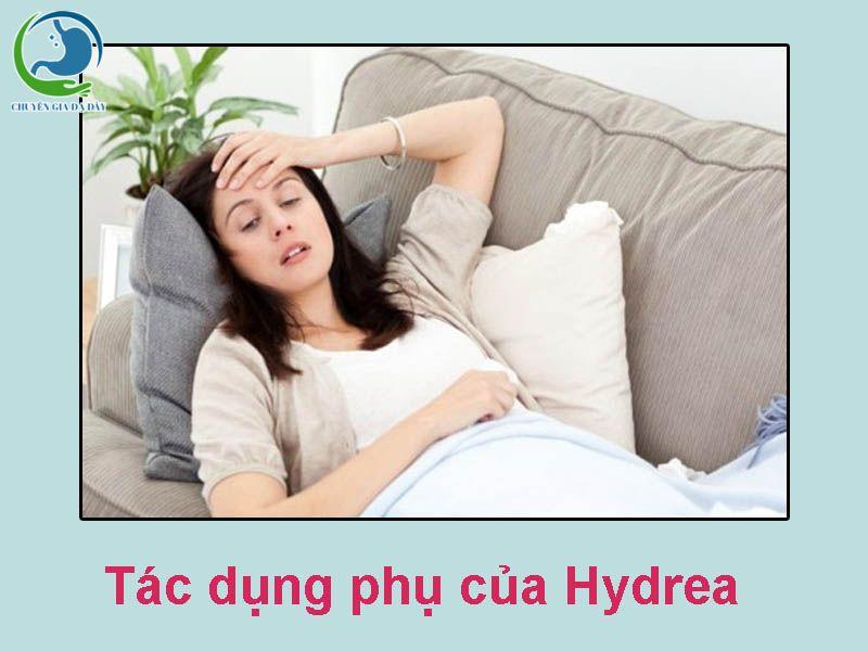Tác dụng phụ của thuốc Hydrea