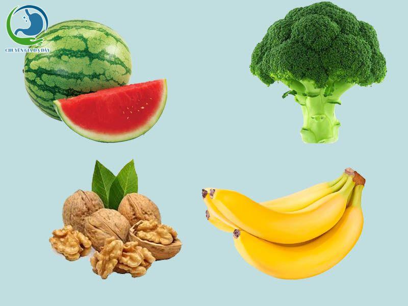 Những thực phẩm có hiệu quả trong việc giảm chứng trào ngược dạ dày