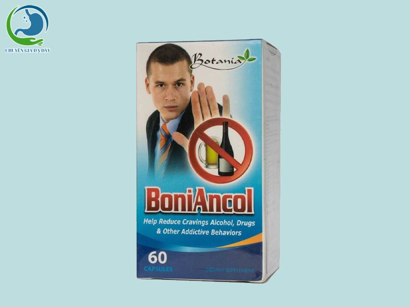 Viên uống cai nghiện rượu Boniancol