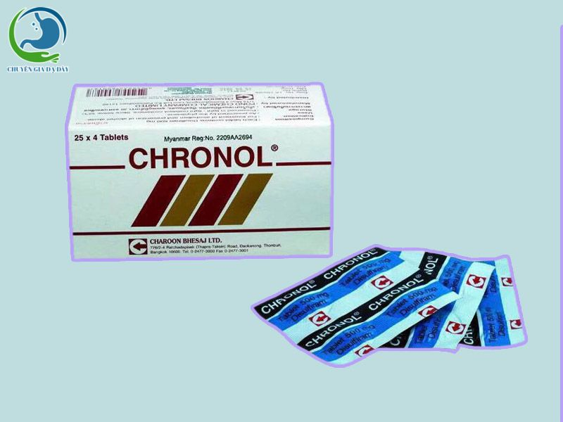 Thuốc cai rượu Chronol 500mg