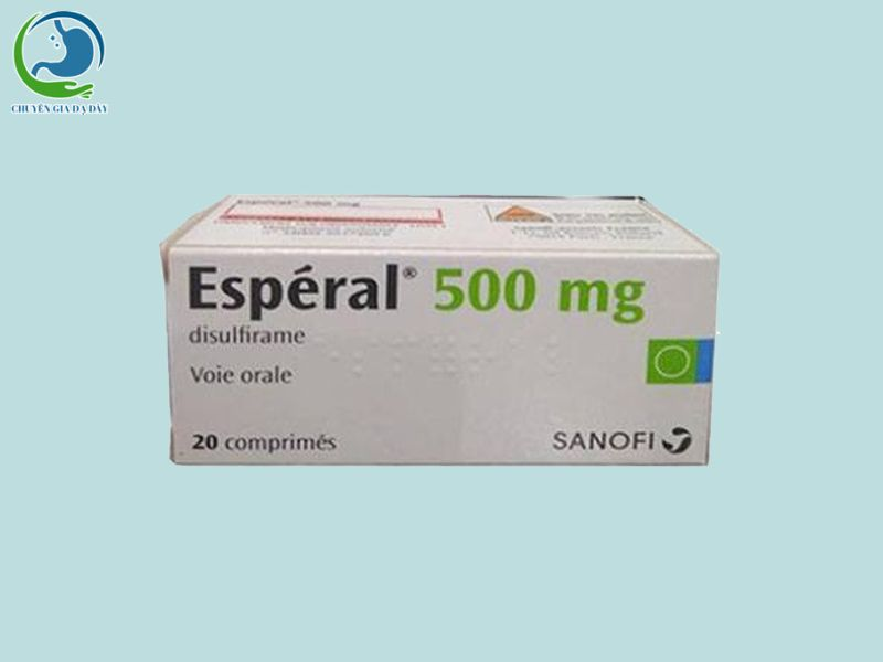 Thuốc chữa nghiện rượu Esperal 500mg