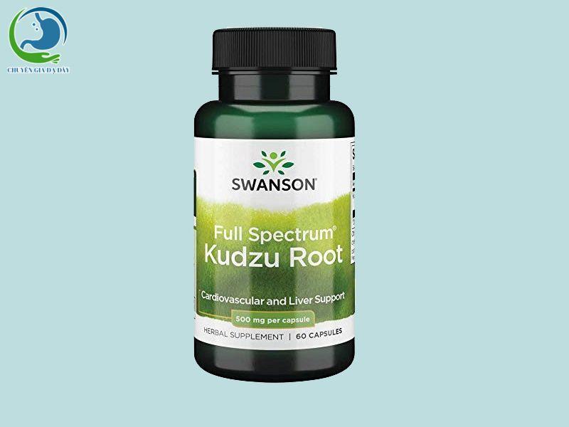 Viên uống cai rượu Kudzu Root của Mỹ