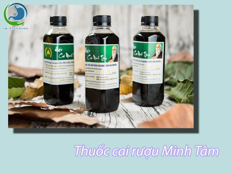 Thuốc cai nghiện rượu Minh Tâm