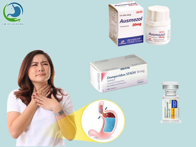 Các thuốc trị trào ngược dạ dày thực quản hiệu quả