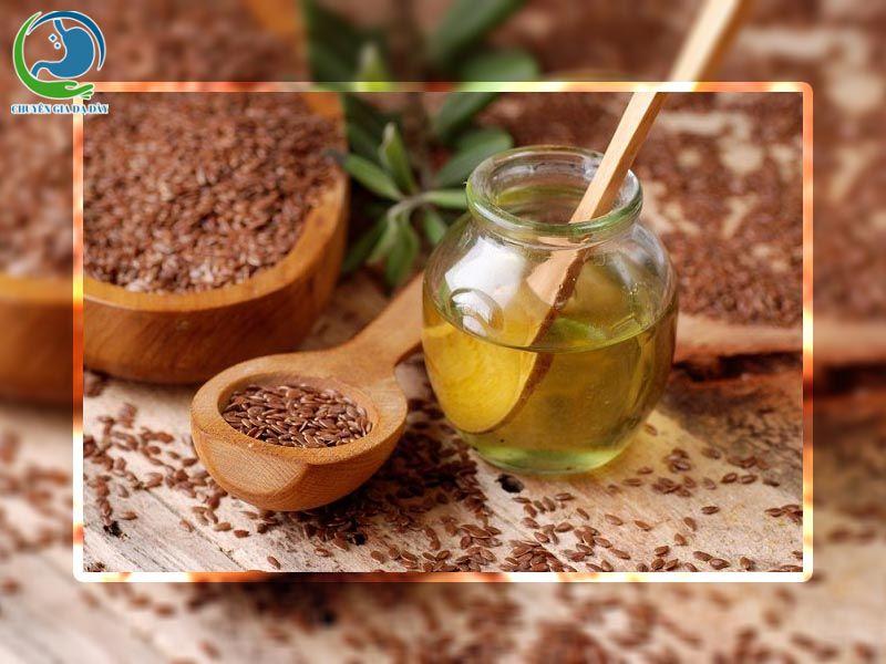 Tinh chất hạt lanh có trong sản phẩm Nhũ Ngọc