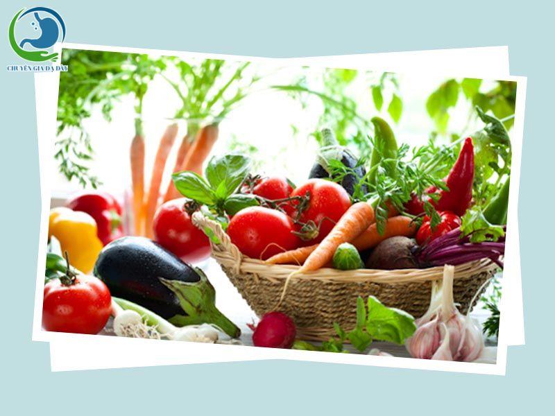 Ăn trái cây, rau củ