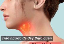 Nguyên nhân trào ngược dạ dày thực quản gây viêm họng và cách điều trị